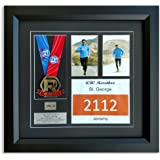 """Race Framers 18"""" Wide By 17"""" Tall Medal And Bib Display Frame"""