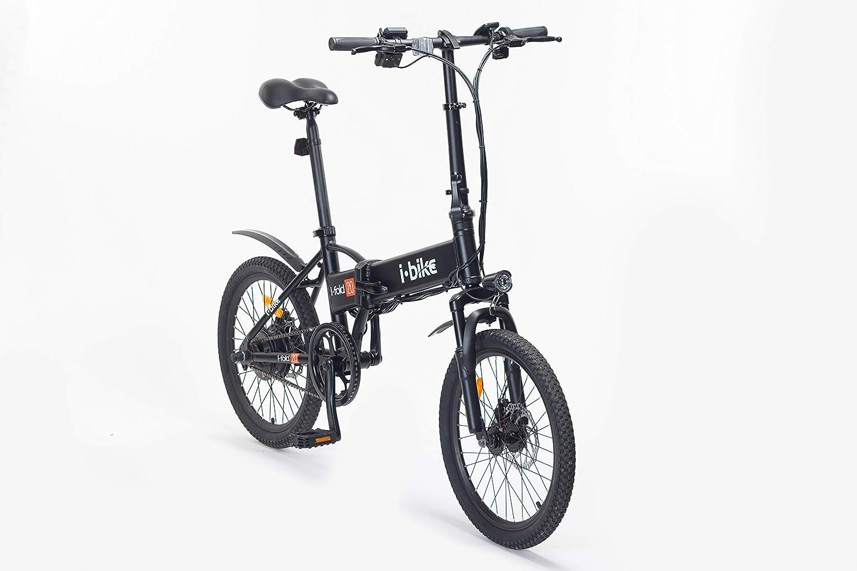 Bici Pieghevole Bfold 20.I Bike I Fold 20 Bicicletta Ripiegabile Elettrica Con Pedalata Assistita Uomo Ruote Da 20 Nero