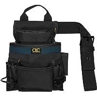 Bolsa balística para unhas e ferramentas CLC Custom Leathercraft 2823, 10 bolsos, preta, média