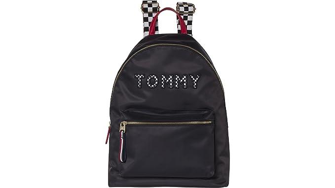 Tommy Hilfiger - Mochila casual Mujer Negro negro 20L: Amazon.es: Ropa y accesorios