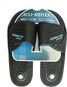 Acu-Reflex Massage Sandals. 1 Pair. ReflexologySandals. Acu-Shiatsu Sandals (XL (Men 11-12))
