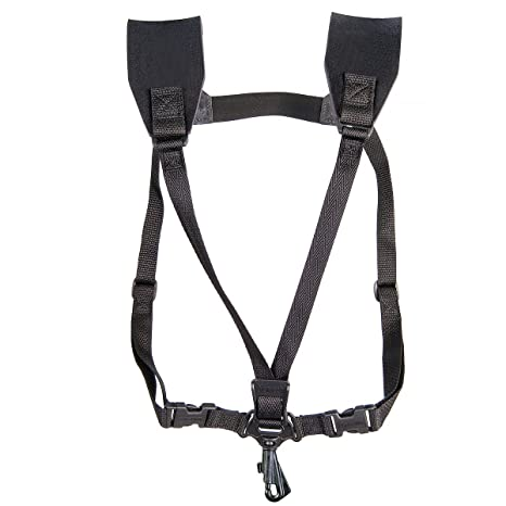 716HW6JBmvL._SX466_ amazon com neotech soft harness, swivel hook saxophone strap