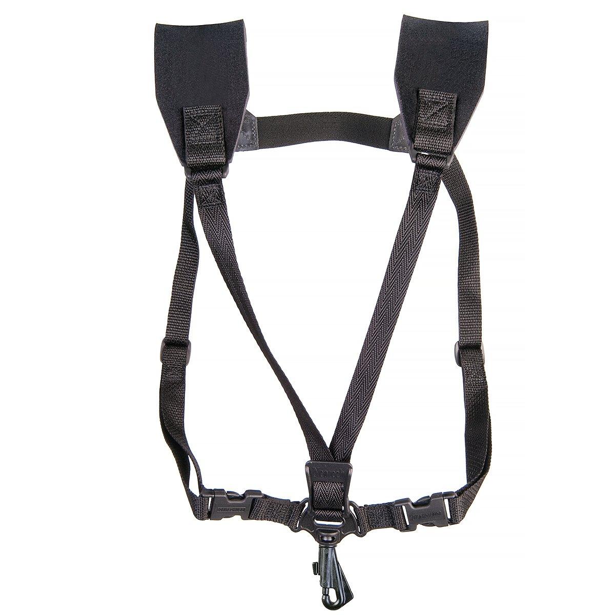 Neotech 2501162 Soft Harness - Adjustable Saxophone Harness, Regular, Swivel Hook