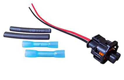 amazon com injector wiring harness repair pigtail connector 2 8l Jeep Tail Light Wiring Connectors image unavailable