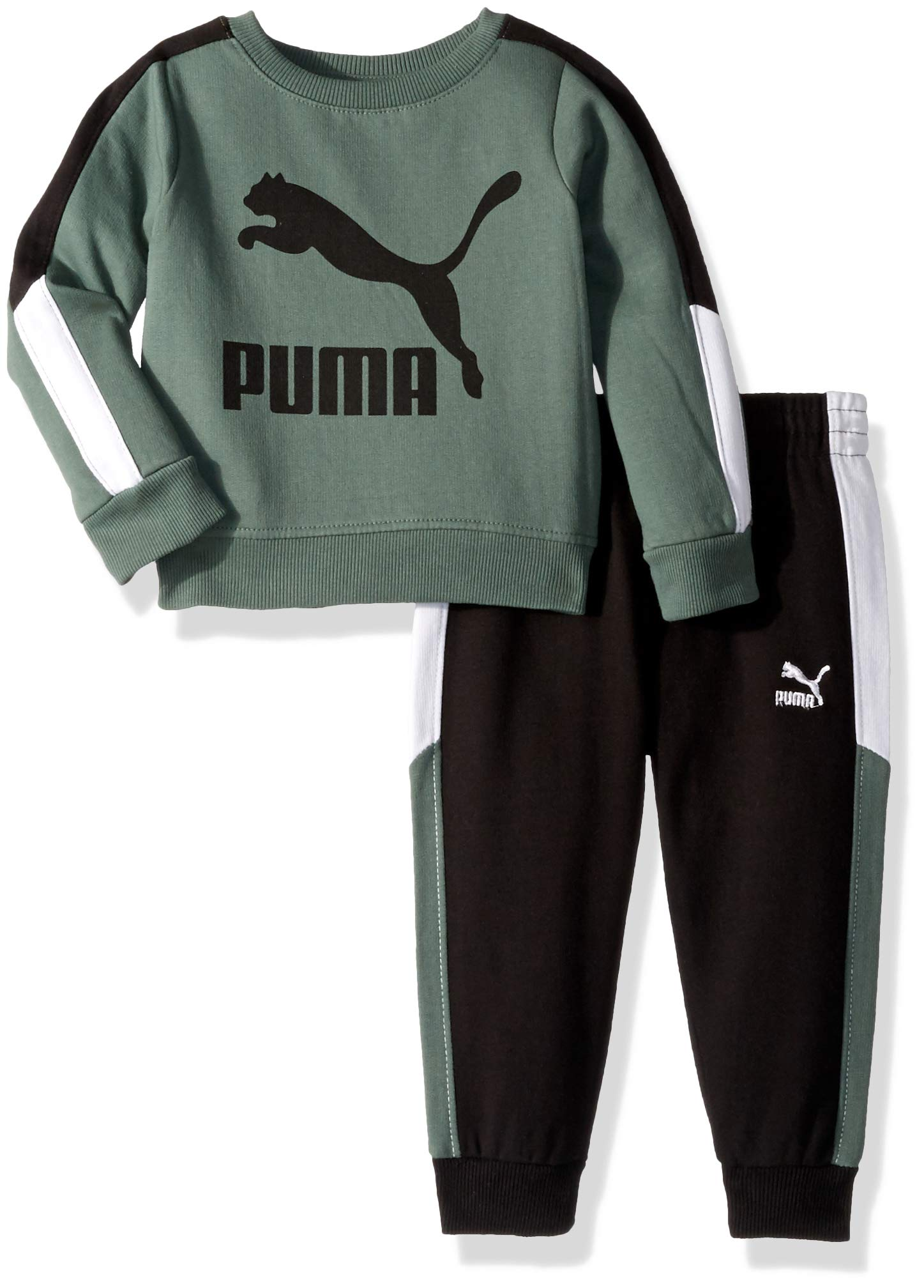 PUMA Toddler Boys' Pullover Fleece Set