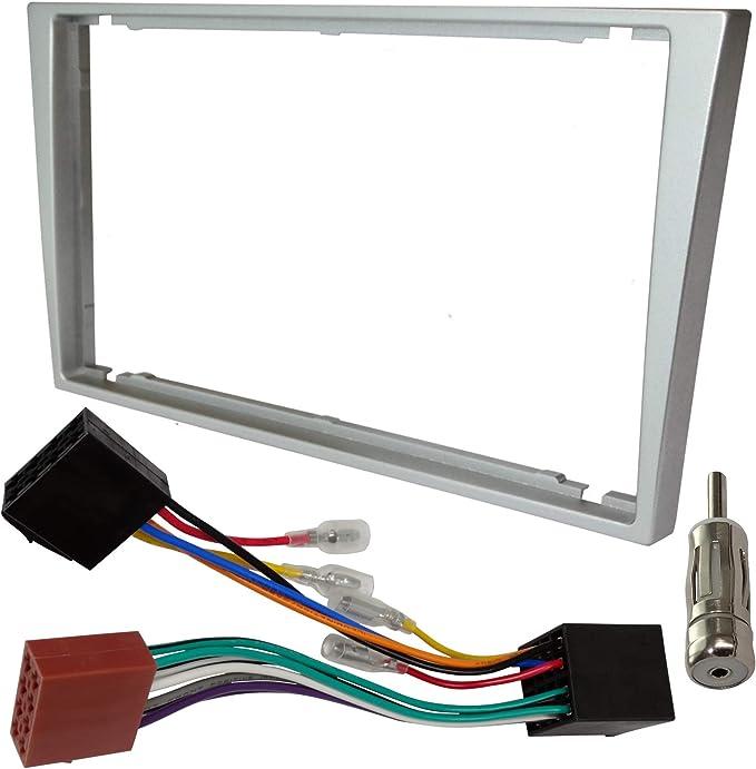 AERZETIX - Kit de montaje de radio de coche estándar - 2DIN ...