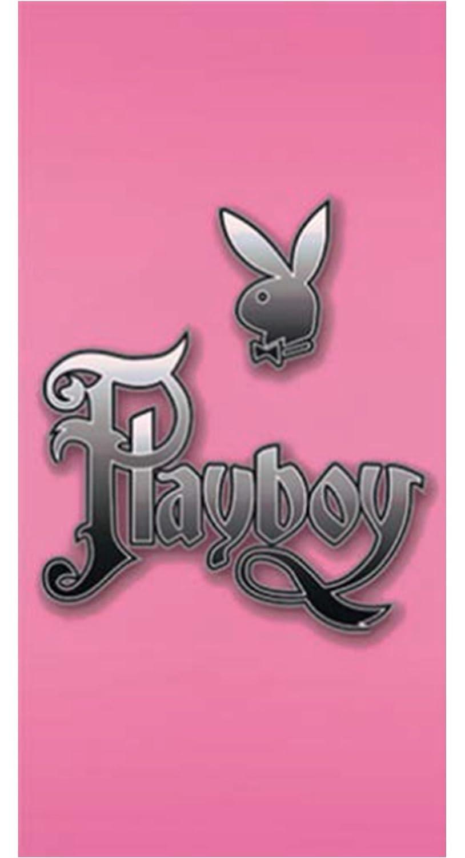 Drap de Plage Coton Rose 76 x 152 x 1 cm MANAGAL 5092 PLAYBOY Playboy Custom