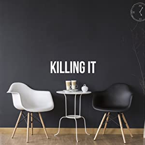 Killing IT - Inspirational Quote - Vinyl Wall Art Decal - 5