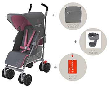 Amazon.com : 2016 Maclaren Techno XT Stroller with BONUS Accessories ...