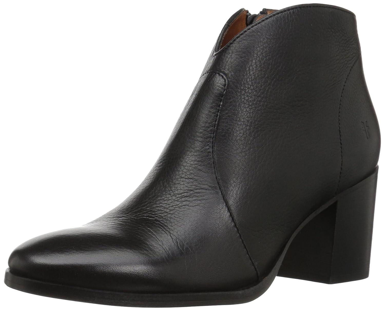 FRYE Women's Nora Zip Short Ankle Boot B071WXP3NG 10 B(M) US|Black