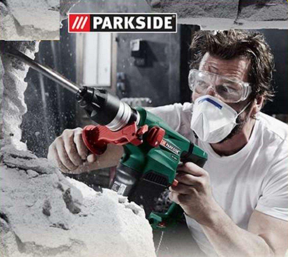 Parkside PBH 1500 B2 - Martillo neumático, perforador y cincelador (1500 W, incluye accesorios): Amazon.es: Bricolaje y herramientas