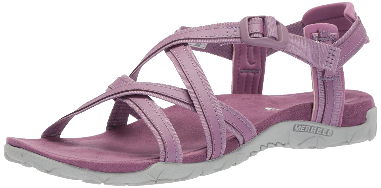 Merrell Women's Terran Ari Lattice Sport Sandal B071ZN3FSN 9 B(M) US Very Grape