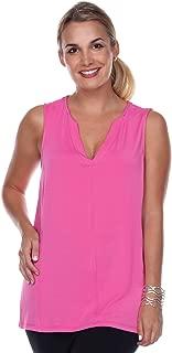 product image for JudyP Blu Women's Linda V-Neck Top (8 Colors)