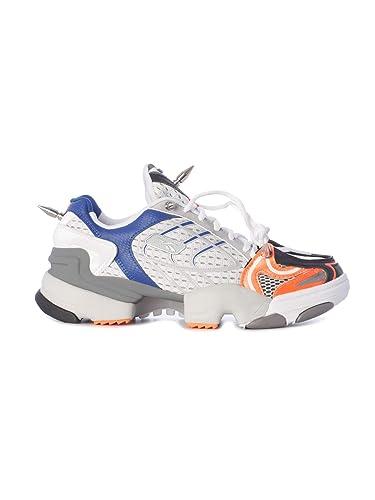 SneakersAmazon Vetements Uss19re3fluoorange Weiss Polyester Damen tsdCQrhx