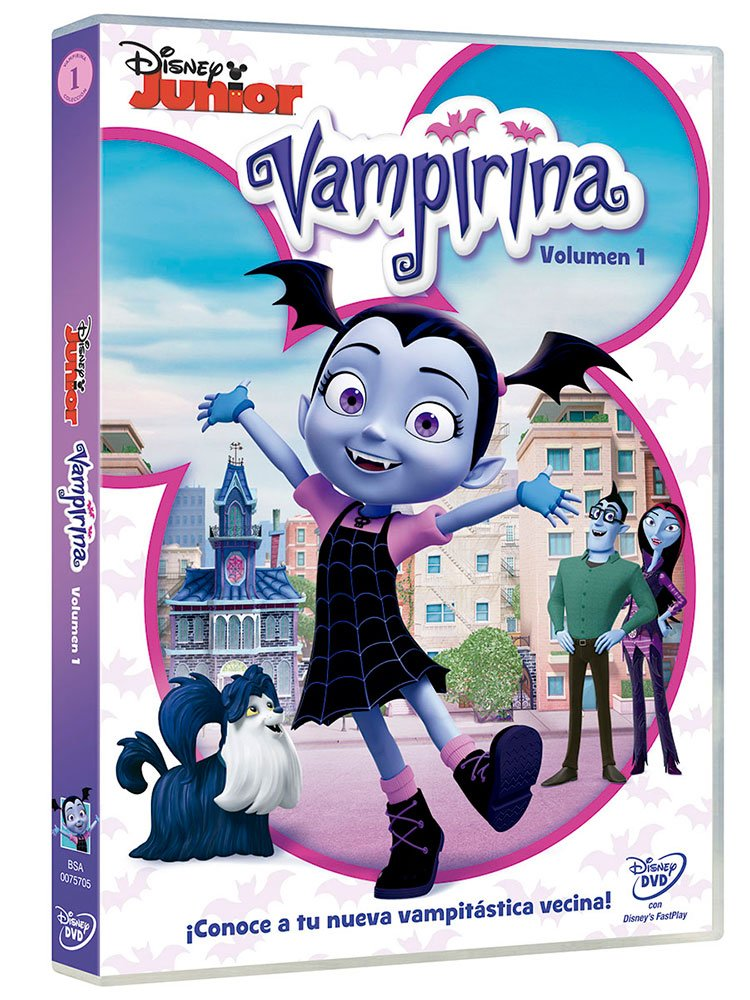 Vampirina [DVD]: Amazon.es: Personajes Animados, Personajes ...