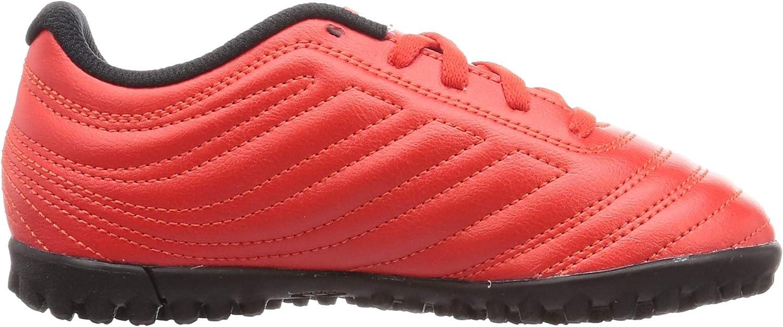 adidas Copa 20.4 TF J, Chaussure de Piste d'athlétisme Mixte Enfant Active Red Ftwr White Core Black