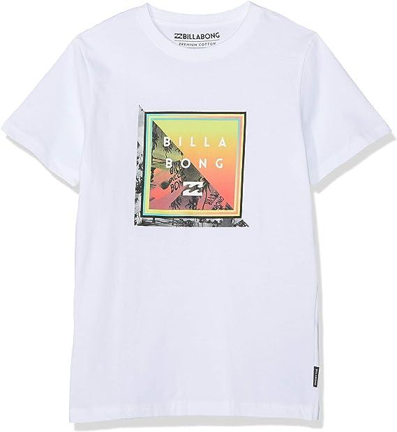 BILLABONG Endless SS tee Boy Camiseta, Blanco (White 10), 12 años (Tamaño del Fabricante:12) para Niños: Amazon.es: Ropa y accesorios
