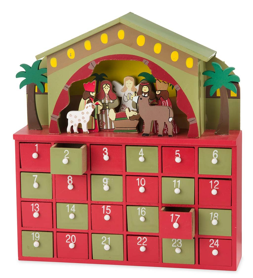 Nativity Advent Drawer Magic Cabin