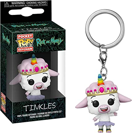 Amazon.com: Funko Tinkles: Rick & Morty x Pocket POP ...