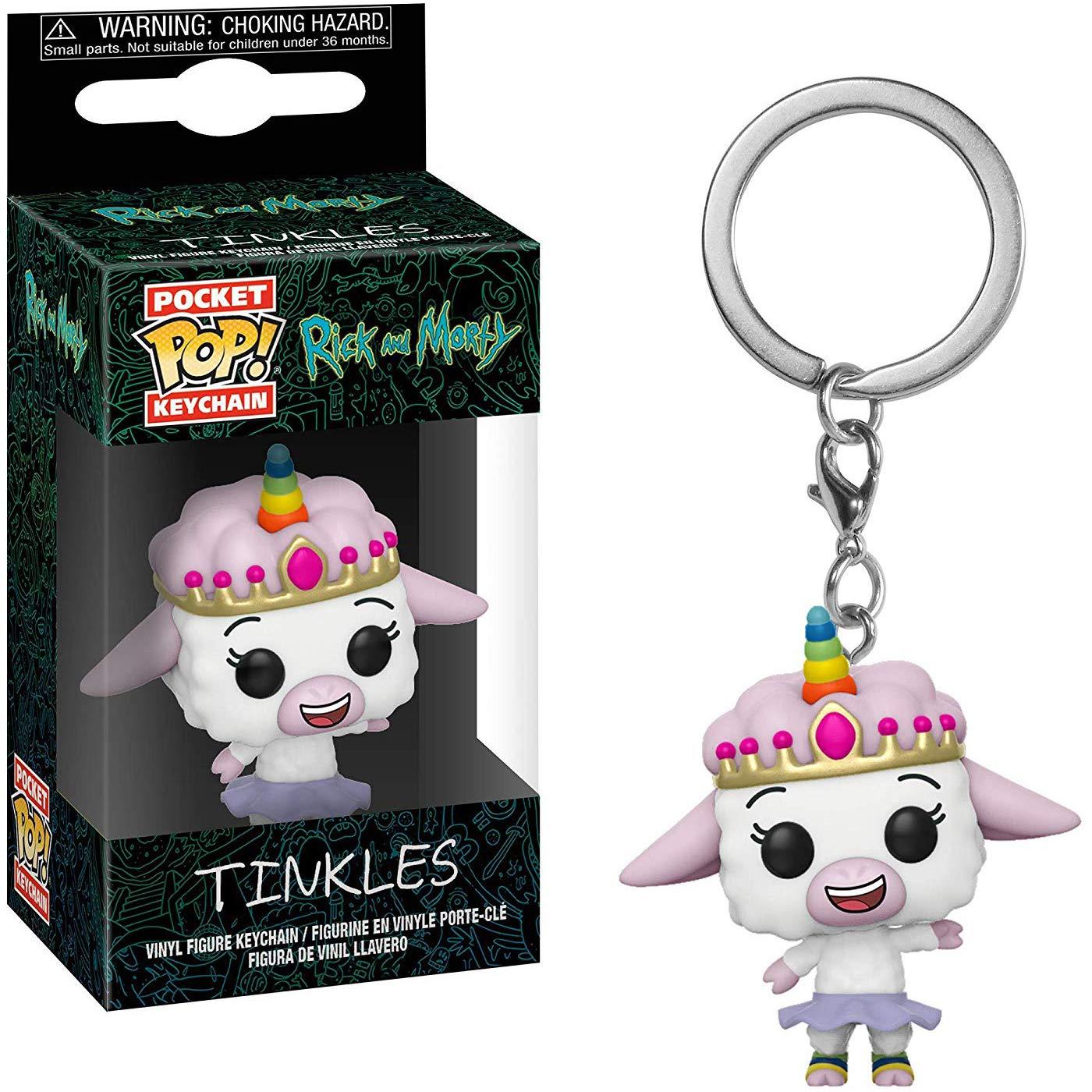 Amazon.com: Funko Tinkles: Rick & Morty x Pocket POP! Mini ...