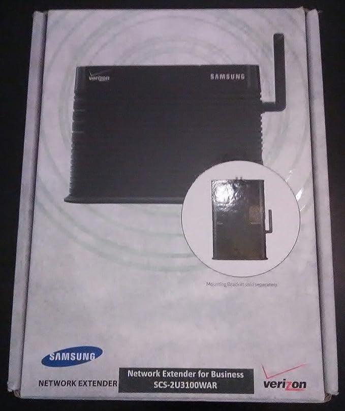 Amazon.com: Samsung Network Extender Business Edition SCS 2U3100 Verizon  Wireless Cellular Signal Booster: Cell Phones U0026 Accessories