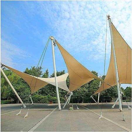 Triángulo Rectángulo Vela de Sombra, Toldo Vela de Sombra Protección Rayos UV, Toldo Resistente e Lmpermeable, para Patio, Exteriores Jardín Toldo, Color Arena (Size : 4x4x5.7m): Amazon.es: Hogar