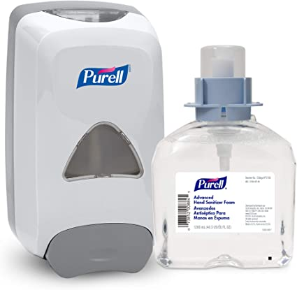 Amazon Com Purell Advanced Hand Sanitizer Foam Fmx 12 Starter Kit