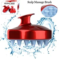 Shampoo Scalp Massage Brush Head Massager Shower Body Massaging Cleaning Brush Hair Comb for Men Women Kids.