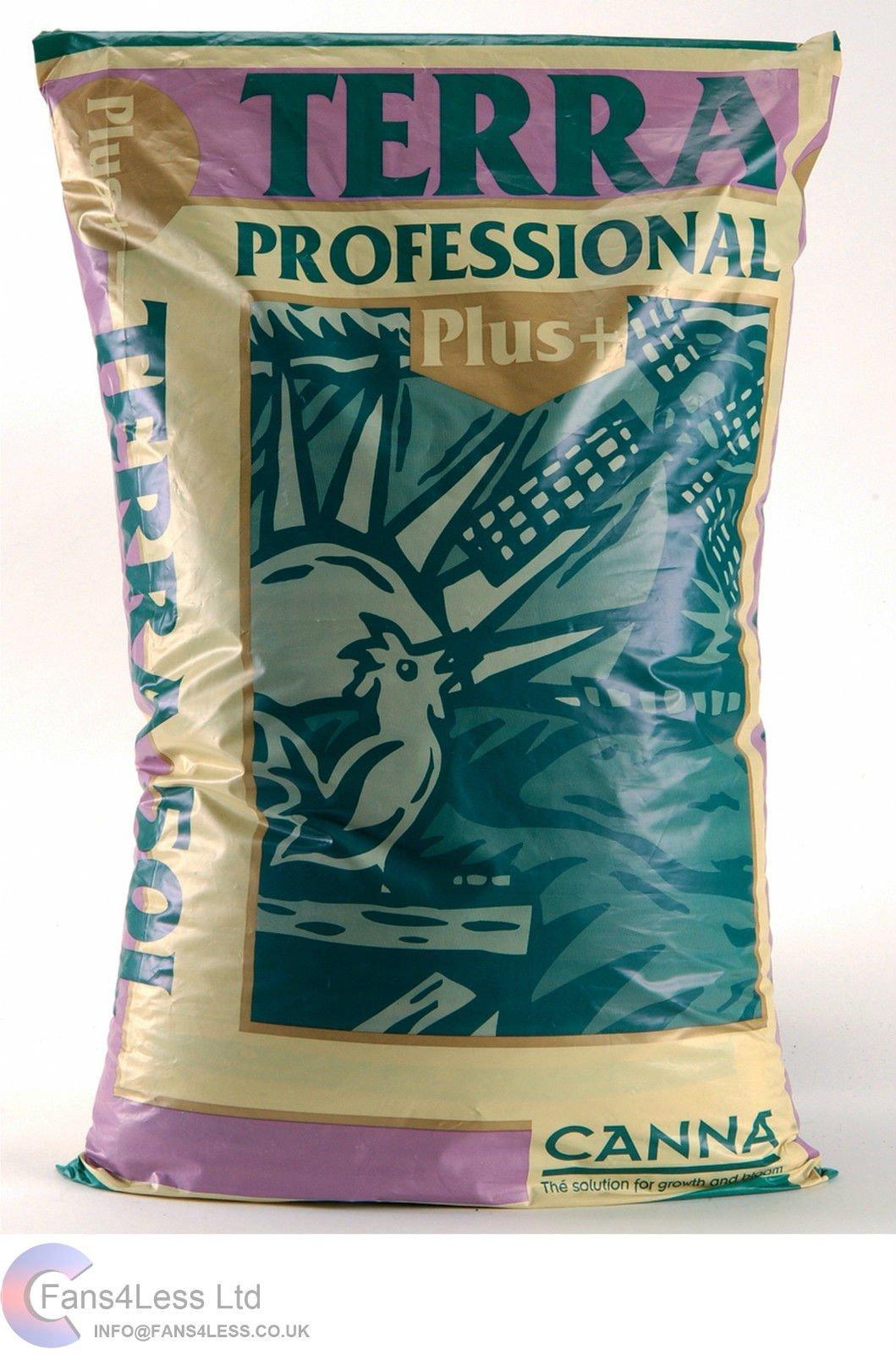 50L, 25L & 10L CANNA Terra Professional PLUS HYDROPONIC GROWING MEDIA SOIL (50 Litre) by CANNA