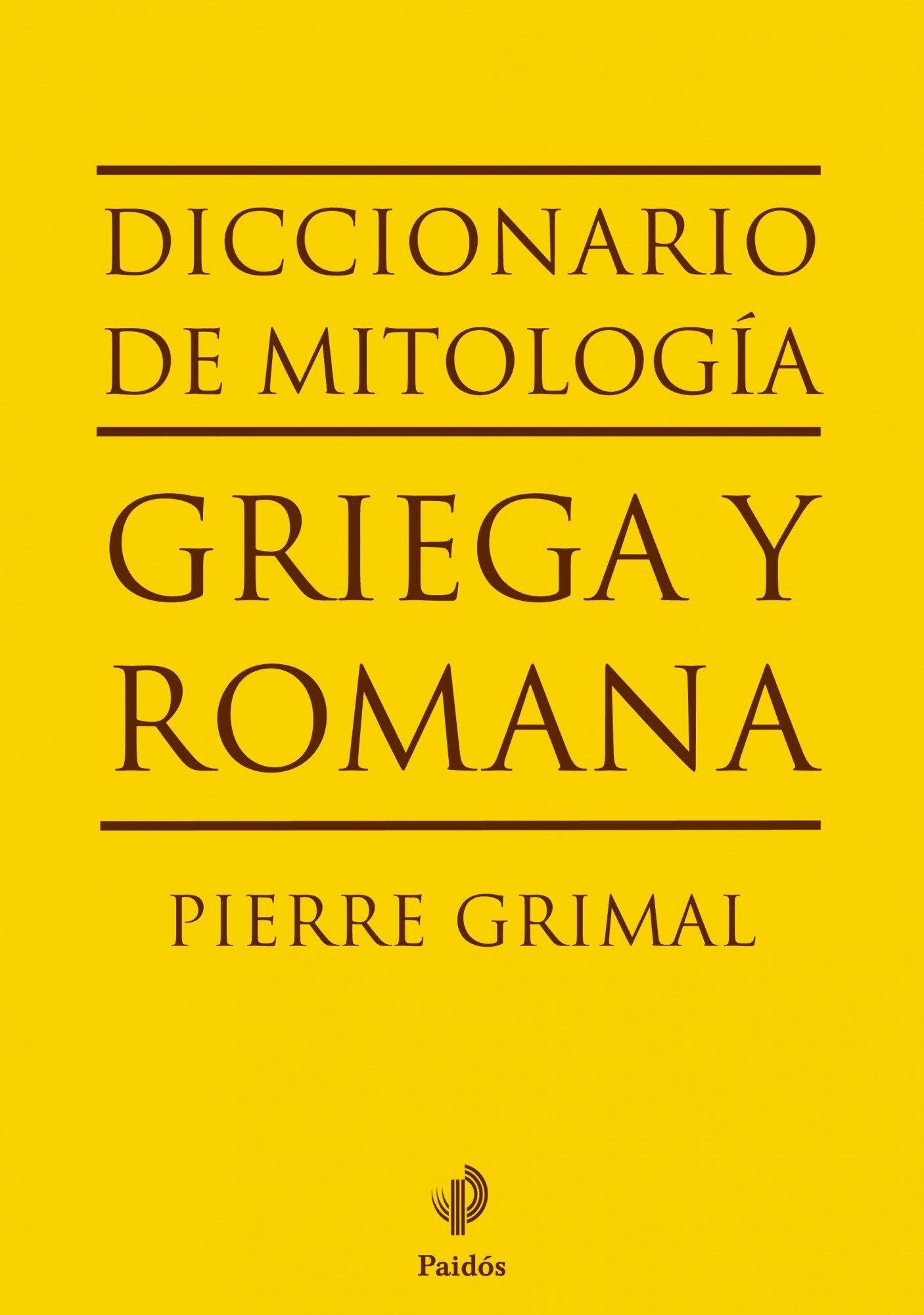 Diccionario de mitología griega y romana (Lexicon): Amazon.es: Grimal, Pierre, Payarols, Francisco: Libros