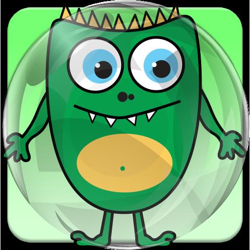 Big Boy Phone Tap Halloween (Toddler Monster Pop)