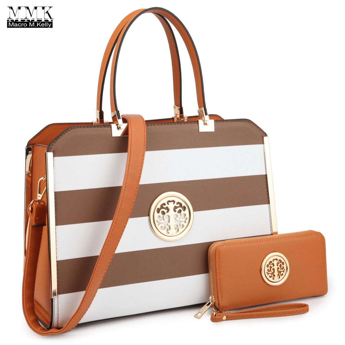 MMK collection Women Fashion Matching Satchel handbags