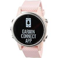 Garmin fenix 5S Sapphire, 42mm Diameter, Pink Meringue