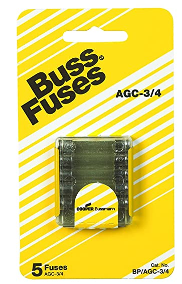 Bussmann BP/AGC3/4 Fast Acting Fuse