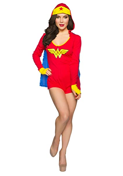 DC Comics undergirl para mujer Wonder Woman Body w/campana & Cape rojo rosso large