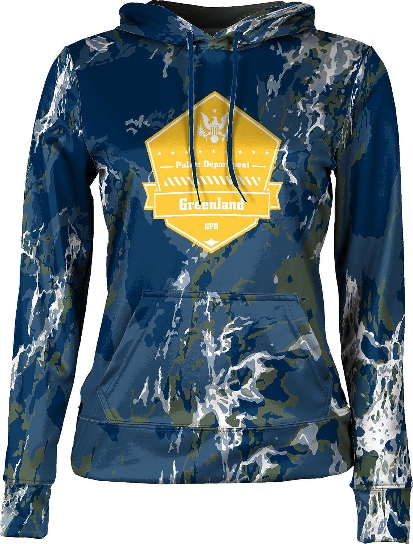 ProSphere Girls' Greenland Police Department Marble Hoodie Sweatshirt (Apparel)
