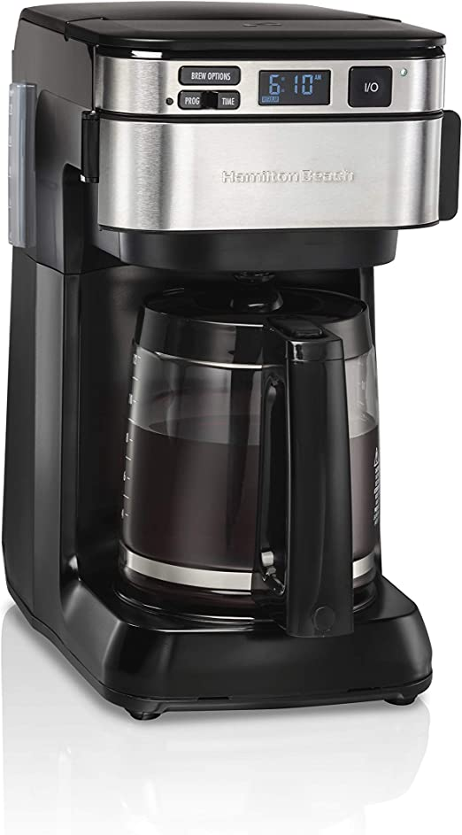 Amazon.com: Hamilton Beach Cafetera programable, cafetera ...