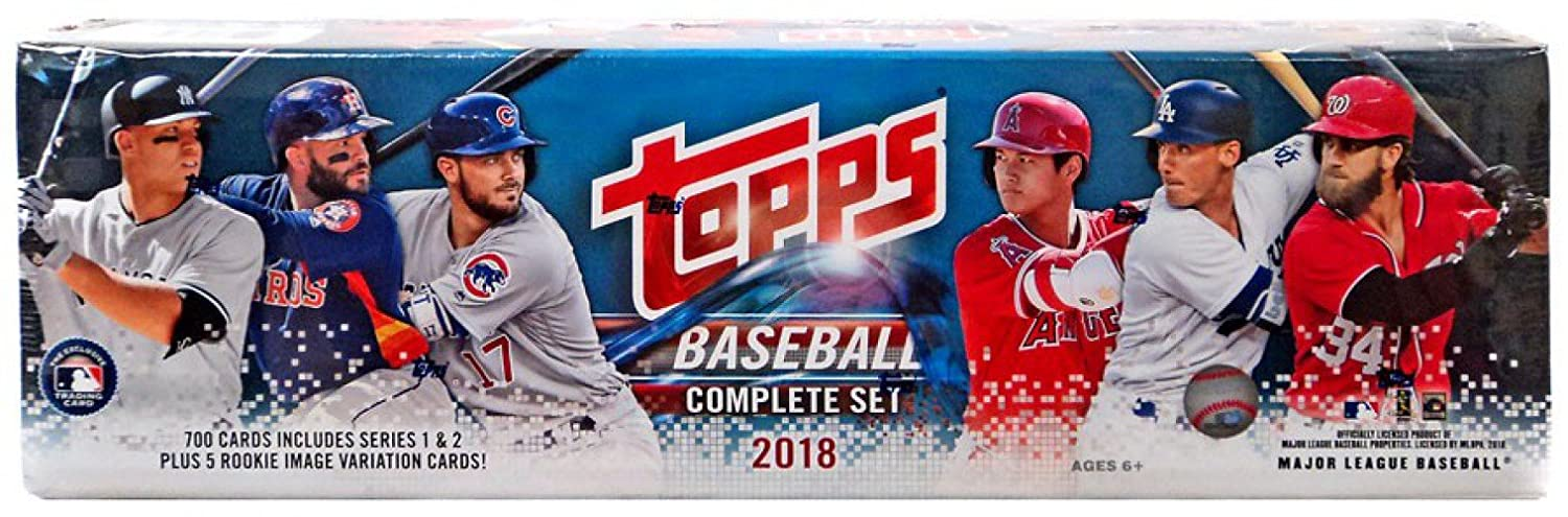 2018 Topps Baseball Complete Sets Retail Edition - 705 Card Factory Set