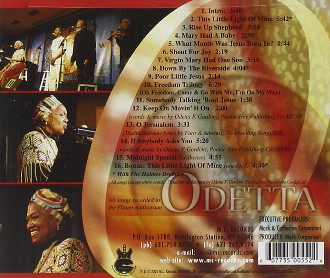 Gonna Let It Shine: A Concert For The Holidays by Odetta