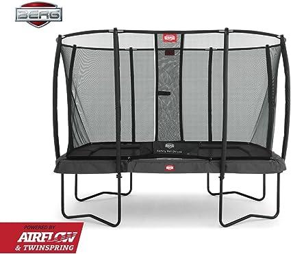 BERG Ultim Champion Regular 330 Trampoline + Safety Net Deluxe ...