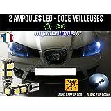Pack de lámpara LED de color blanco Xenón para Seat Ibiza 6L.