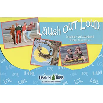 Amazon laugh out loud ast90722 humorous greeting card laugh out loud ast90722 humorous greeting card assortment by leanin tree 20 m4hsunfo
