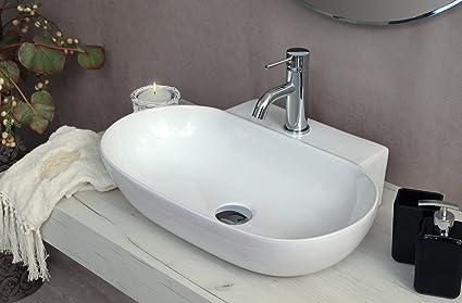 Lavandini Da Bagno Da Appoggio : Yellowshop lavabo da appoggio o sospeso cm bacinella