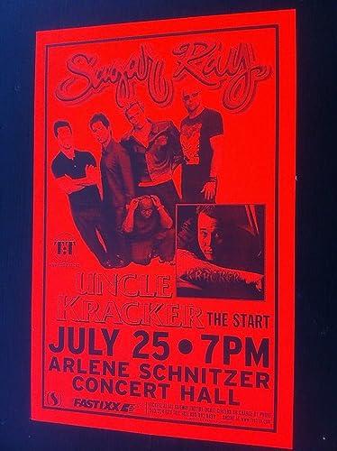 Sugar Ray Uncle Kracker Kid Rock Rare Original Hip-Hop Concert Tour