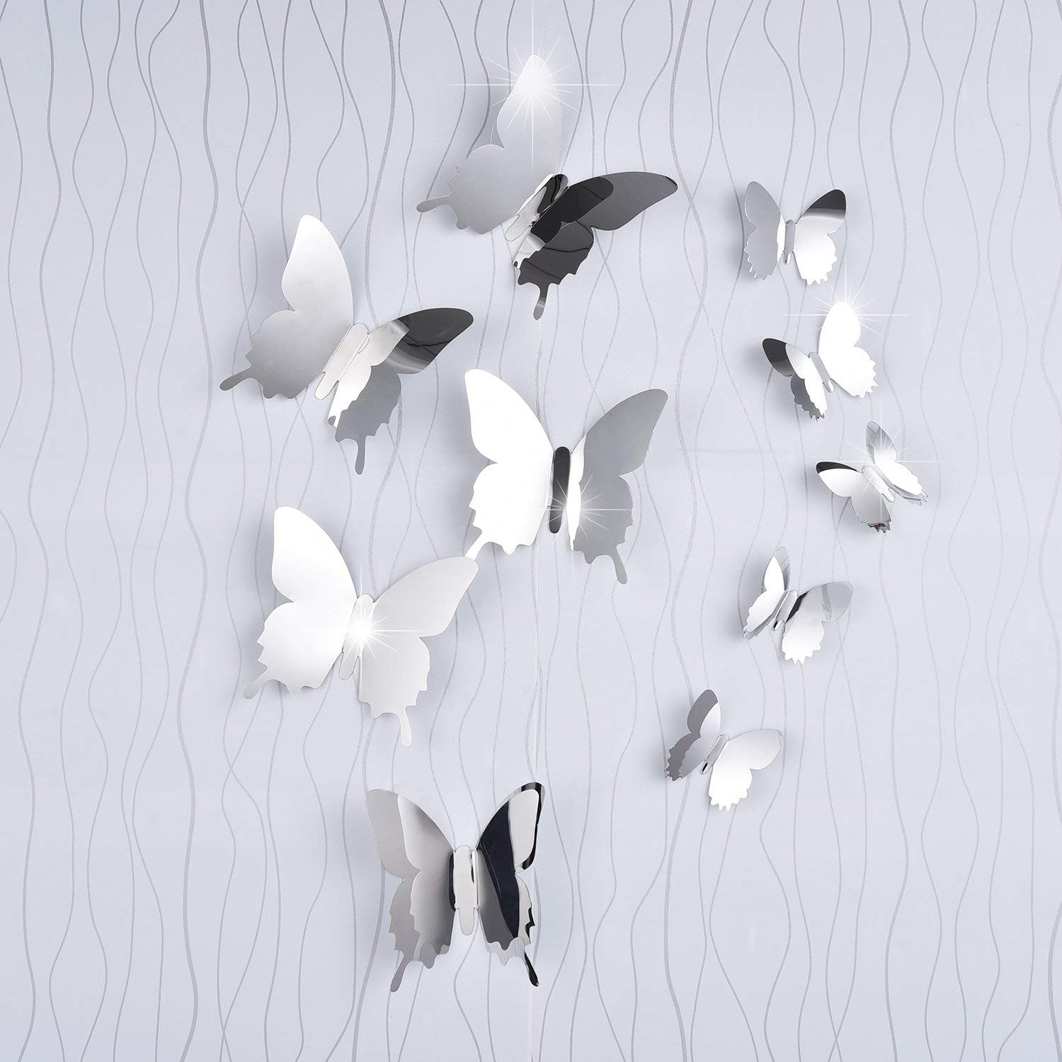 Vinilo Decorativo Pared [755G3839] mariposas 3D