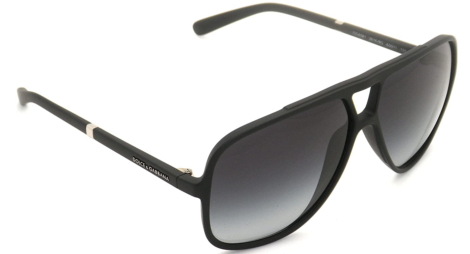 6f3ac0f377 Authentic Dolce   Gabbana Black Frame   Gray Gradient DG 6081 2616 8G 60   Amazon.ca  Clothing   Accessories