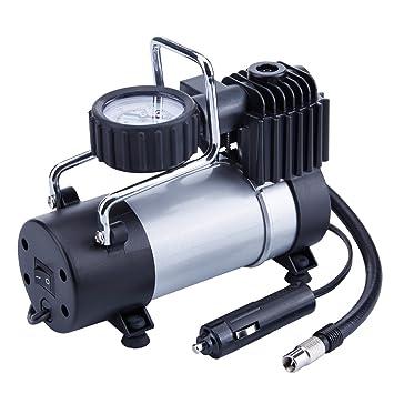 TIREWELL 12 V inflador de neumáticos - Bomba de Metal de ...
