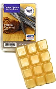 Better Homes and Gardens Vanilla Caramel Spice 5 ounce Scented Wax Cubes