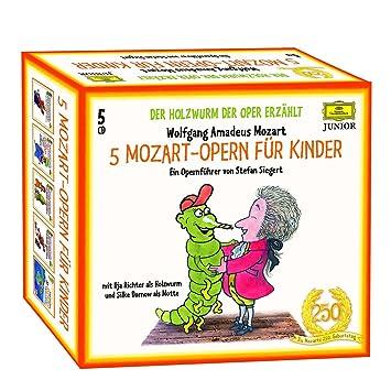 Holzwurm Der Oper 5 Mozart Opern Fur Kinder Ilja Richter Silke