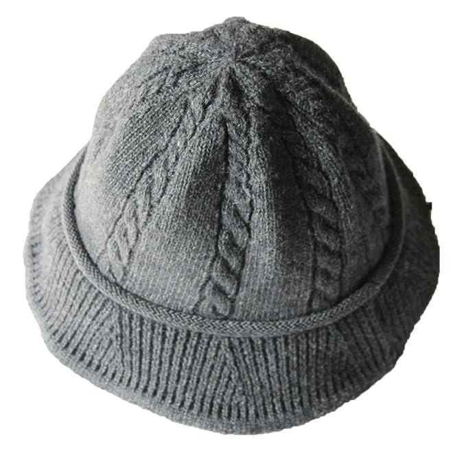 Sombrero De Pescador Dama Salvaje Sombrero De Lana Punto Caliente Sombrero  De La Cuenca Moda Lindo Marea Retro 336873a6493
